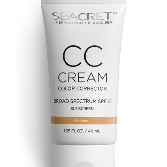 Seacret Cc Cream Broad Spectrum Spf 15 Sunscreen Nwt